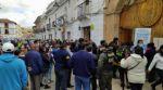 Sucre: La falta de información provocó la aglomeración de adultos mayores en busca de vacunas