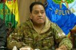 Reportan que el excomandante de las FFAA, Sergio Orellana, ya habría salido del país