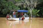 Pando: Evacúan a 23 familias afectadas por inundaciones en barrios de Cobija