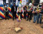 Chuquisaca: Obras Públicas apoyará en la construcción de viviendas para familias de escasos recursos
