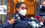 La alcaldesa electa de El Alto, Eva Copa, tiene diez días de baja médica