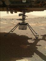 Helicóptero Ingenuity de la NASA ya está en el suelo de Marte