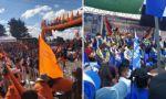 ¿Cómo cerrarán sus campañas el MAS y CST rumbo a la segunda vuelta en Chuquisaca?