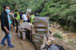 TED garantiza entrega de maletas electorales para segunda vuelta tras accidente