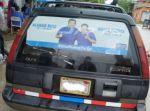 Tarija: Denuncian que vehículos contratados por el TED circulaban con propaganda del MAS