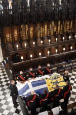 La reina Isabel II entierra a su esposo, el príncipe Felipe