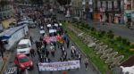 Carniceros exigen frenar alza de precios con una marcha en La Paz y no descartan bloqueos