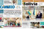 """El Gobierno cambia el nombre del periódico estatal """"Bolivia"""" a """"Ahora el Pueblo"""""""