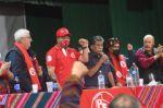 Arce asiste a un congreso del PS1 y dice que aguarda las conclusiones con ansias