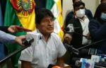 """""""Mi delito fue ser indígena"""", dice Evo, que arremete contra el Parlamento Europeo"""