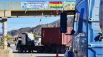 Paro indefinido del transporte pesado contra el ferrocarril