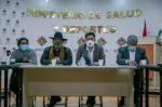 La Paz: Auza, Copa, Arias y Quispe acuerdan agenda de trabajo para contención, mitigación y vacunación