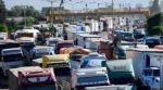 Transportistas siguen en protesta; exigen la suspensión definitiva del tramo Arica-La Paz