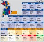 Chuquisaca: ¿En cuántos concejos municipales manda el MAS y cuántos la oposición?