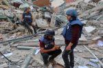 Bombardeo israelí contra edificio donde tienen sus oficinas Associated Press y Al Jazeera