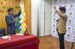 El excandidato a gobernador de La Paz, Franklin Flores, asume la gerencia de Emapa