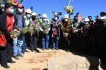 Gobierno da un plazo de seis meses para dotar de agua a zonas altas de Sucre