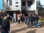 Gobierno descarta que una mano humana haya provocado el incendio en la casa de Condori