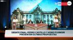 En Vivo: Sigue el último debate presidencial de Perú
