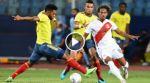 Final del partido: Colombia 1-2 Perú