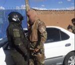 """Policía intercepta a militares con un vehículo """"chuto"""" en El Alto"""
