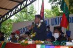 Choquehuanca llama a la unidad y pide expulsar del MAS a quienes busquen dividirlos