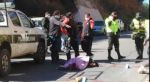 Una mujer muere arrollada por un micro en la avenida Juana Azurduy de Sucre