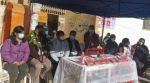 Punto móvil de vacunación llega al mercado de Lajastambo