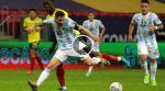 Final del partido: Argentina 1(3)-(2)1 Colombia