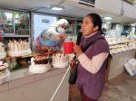 Lidia Colque, la dulce voz de los mercados de Sucre