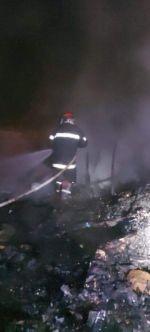 Militar auxilió a su esposa y dos de sus hijos antes de que incendio acabara con su vida