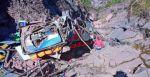 Sucre: Escenas desgarradoras, el día después del fatal accidente en Chataquila