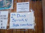 Déficit de segundas dosis de Sputnik V provoca malestar en la población