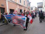 Potosinos marchan para denunciar persecución y en defensa del Salar de Uyuni