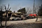 """""""La noche fue un infierno"""": El fuego provoca un desastre en Grecia"""
