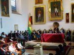 Piden unidad y respeto a la capital en la sesión de honor de la Asamblea Departamental