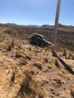 Accidente en Yamparáez deja un muerto y un herido