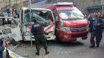 Choque de vehículos deja una persona fallecida en el centro de La Paz