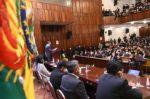 """Según Arce, el """"golpe"""" fue gestado mucho antes entre políticos y cívicos"""