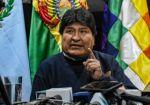 Un día después, Evo Morales habló del informe del GIEI