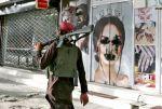 Imagen de la mujer desaparece de las calles de Kabul