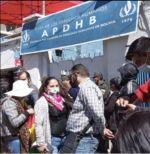 Intentaron tomar la sede de la Apdhb; apuntan a militantes del MAS