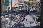 Mineros marchan en La Paz en demanda de atención del Gobierno
