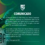 Jesús Sagredo dio negativo y se reincorporará a la Selección Nacional