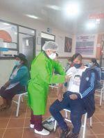 Alcalá lleva la delantera en la vacunación