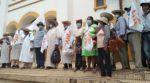 Marcha de indígenas benianos cumple diez días en su camino hacia Santa Cruz