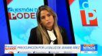 La hija de Áñez denuncia amenazas del Gobierno