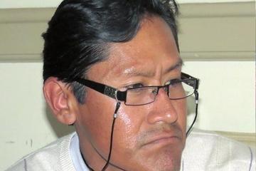 Omar Calisaya es el candidato del FPV