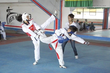 Taekwondo tiene equipo