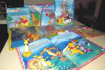 Ejemplares de Winnie Pooh buscan incentivar lectura